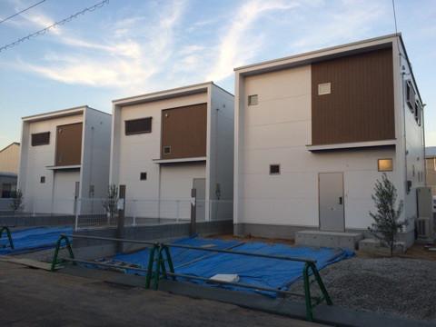 戸建て賃貸の新築住宅、デザインがカッコいい