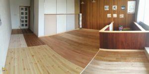 床が新築住宅のトータルインテリアを調和させます