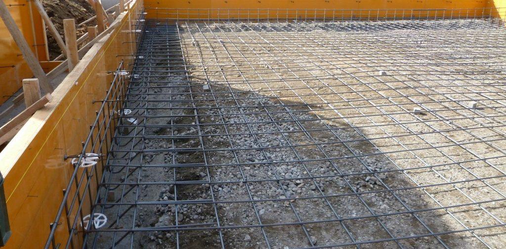 耐震に優れたベタ基礎の鉄筋