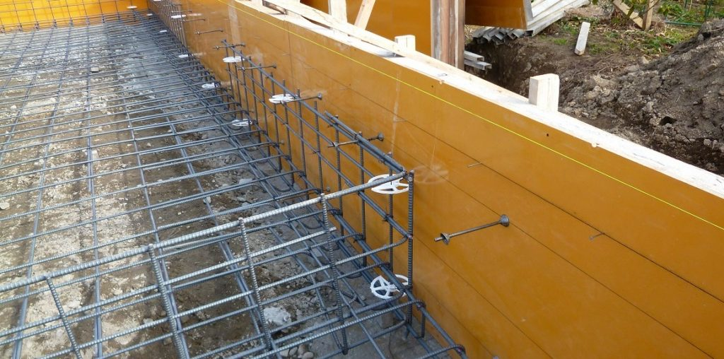 耐震を考えた鉄筋、ベタ基礎