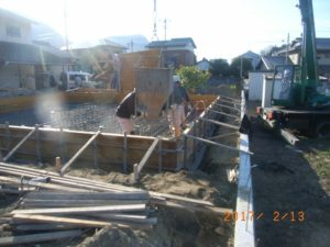坂出市の平屋住宅工事